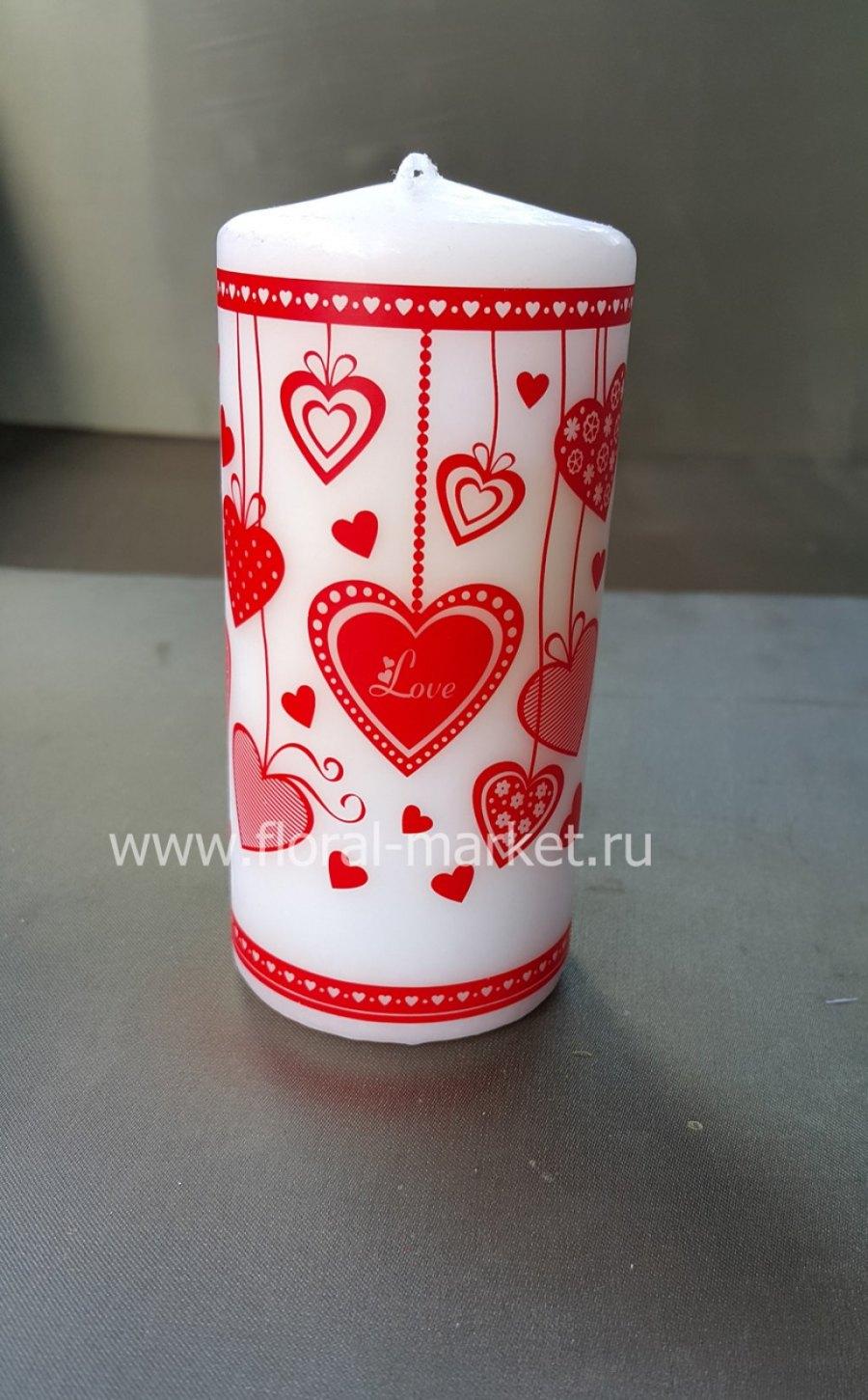 С6154 Пенек подарочный сердечки-подвески