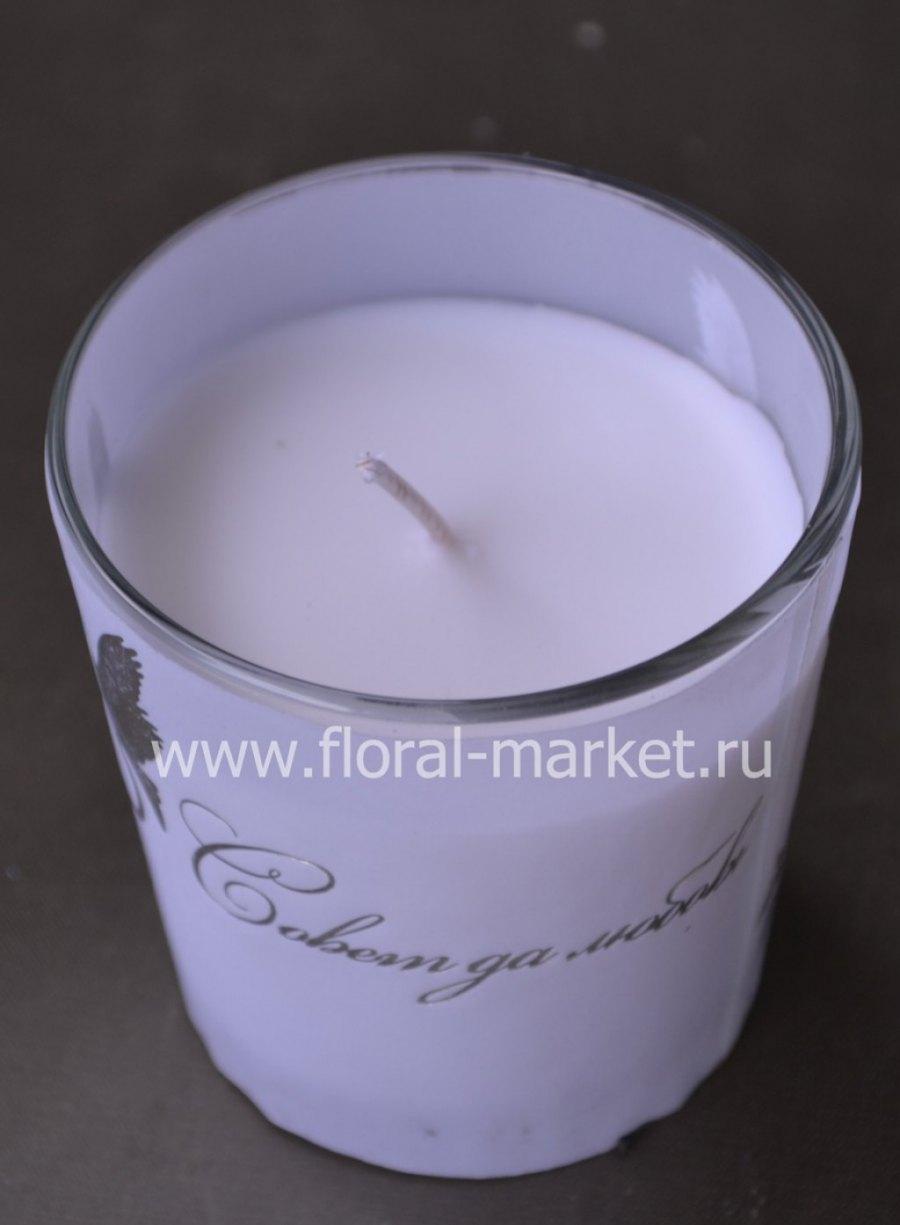 С7810 Свеча в стекле ароматизирова голуби Хамелеон