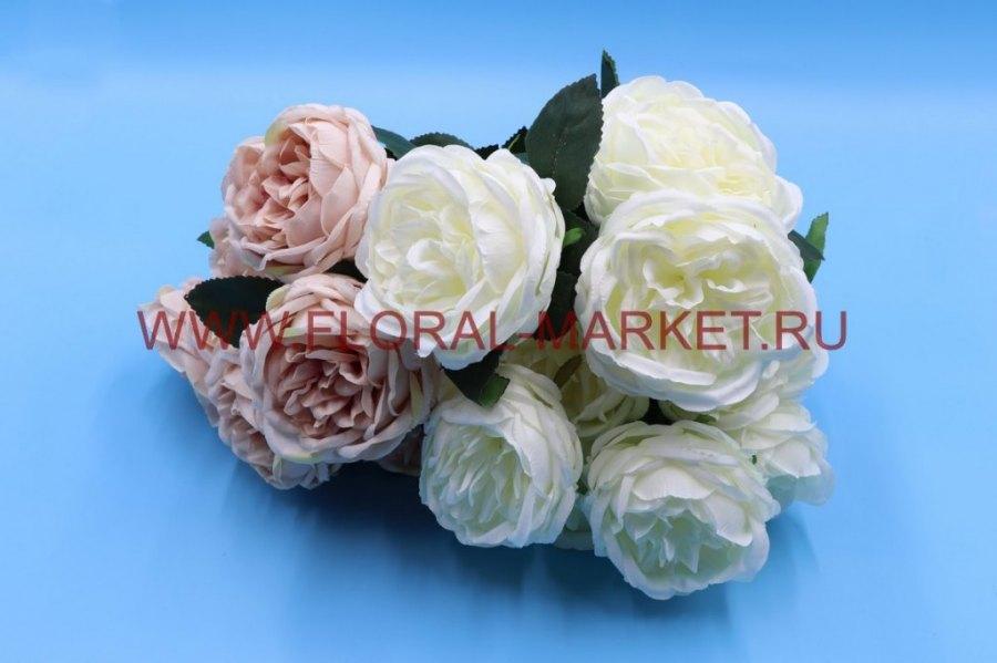 """Б6035 Букет роза """"Дорада"""" 9г. в.-45см."""