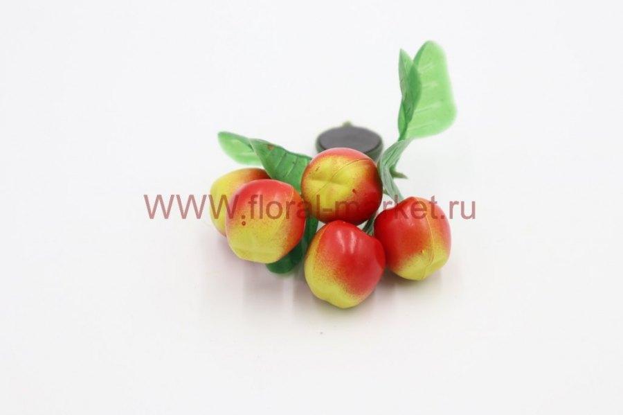 Фрукты/ягоды мелкие на магните Персики