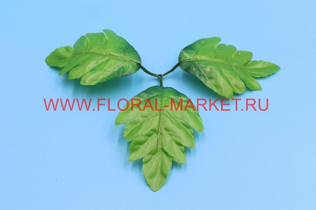 З4135 Лист хризантемы тройной