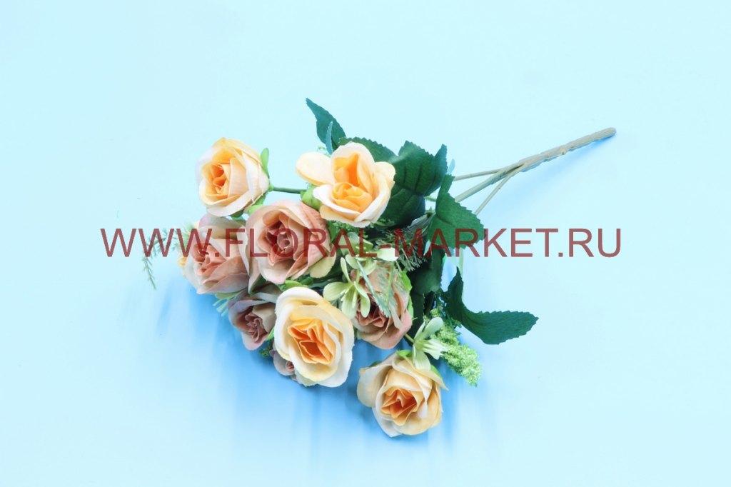 Б6242 Букет бутончики роз с доб.10 г.h=30см.