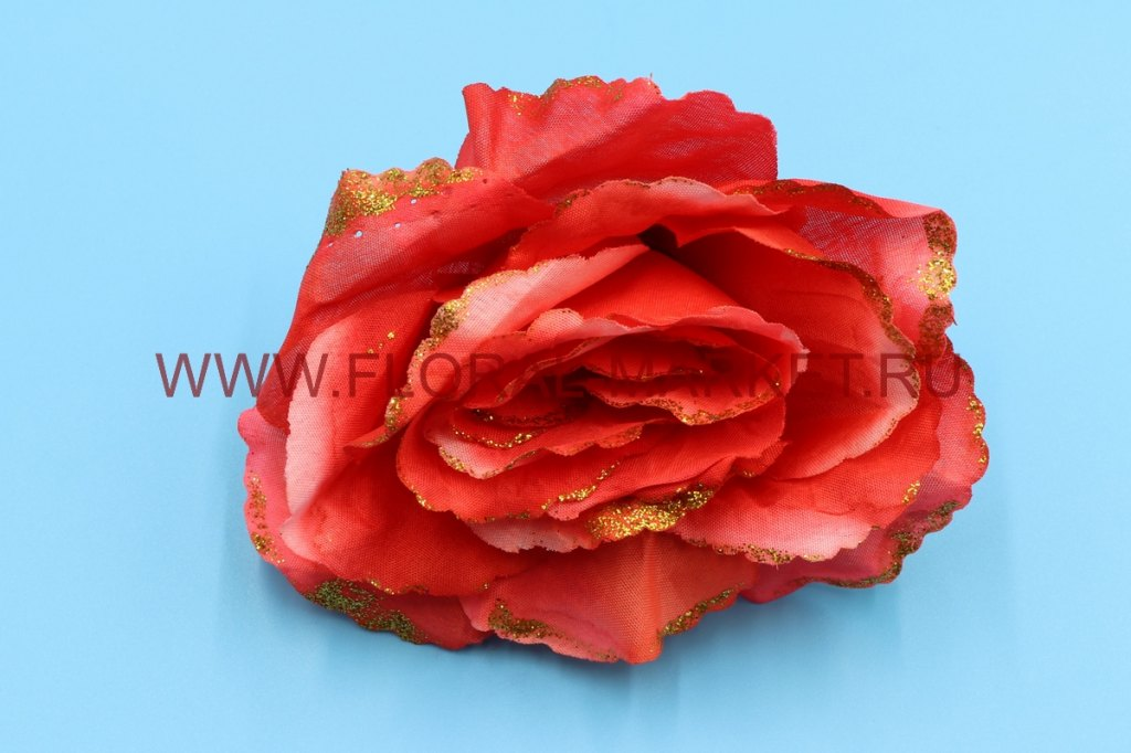 Гол. Роза средняя с золотом