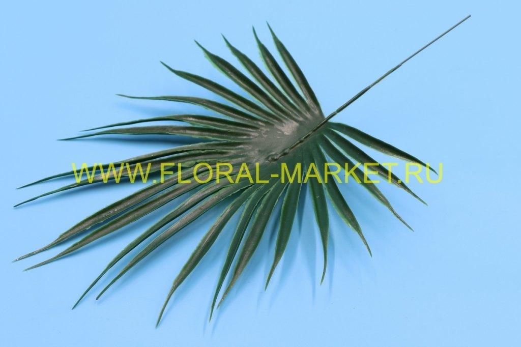 З676 Лист пальмы круглый h=32см.