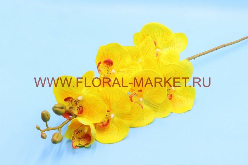 В2364 Орхидея королевская (силикон) в-102см.