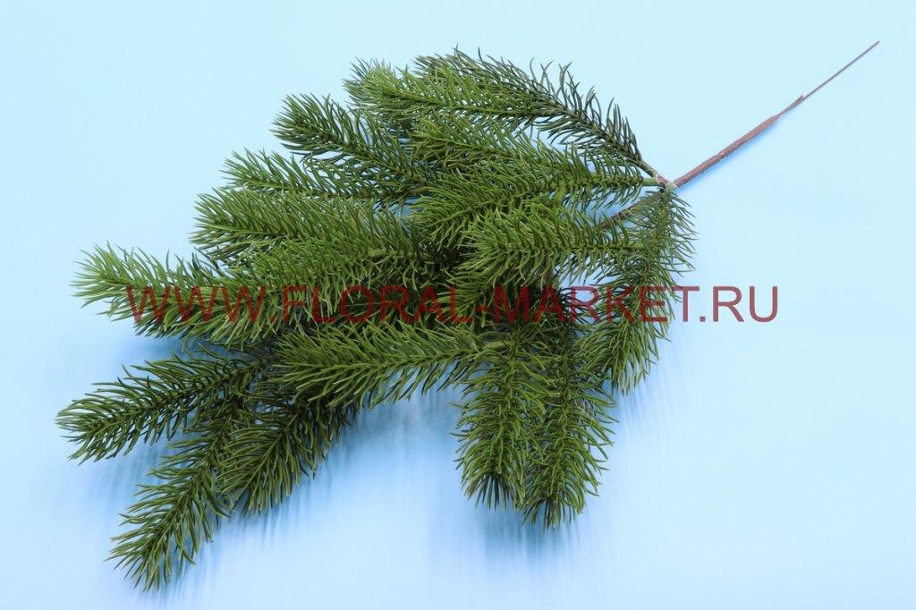 В206 Ветка елки большая h=36см.