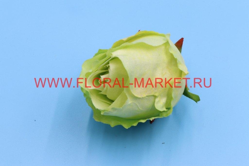Г0359 Голова роза бутон кудрявый