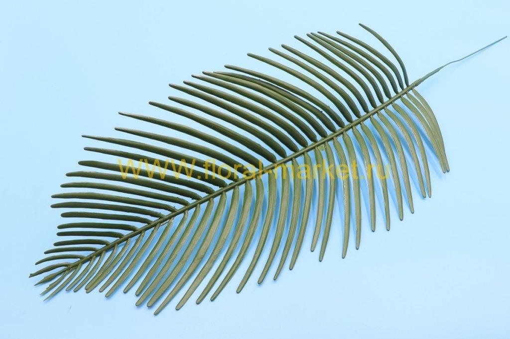 З304 Лист пальмы финиковой п/м h=47см.