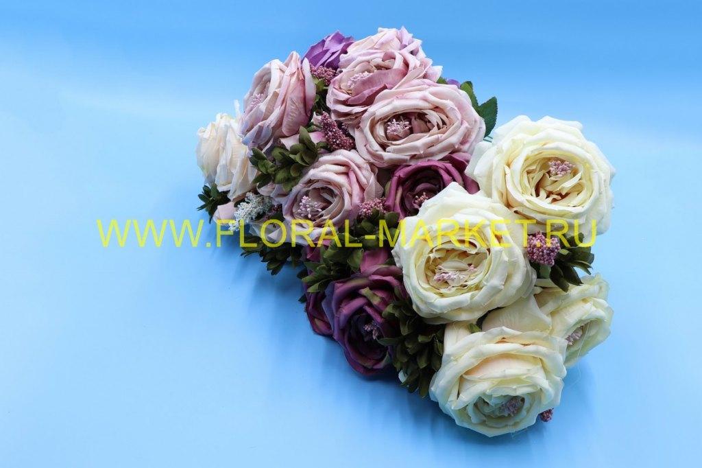 """Б1038 Букет роз """"Сувенир""""12в.h=51см."""