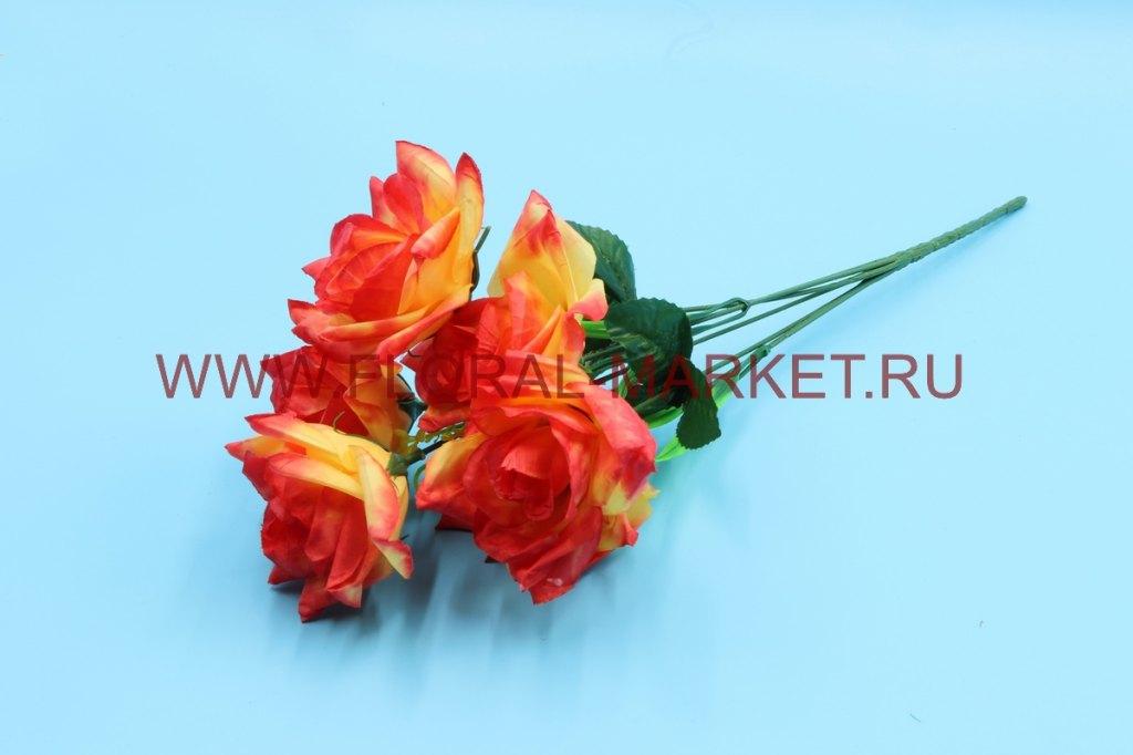 Б6305 Букет роза 6 гол.