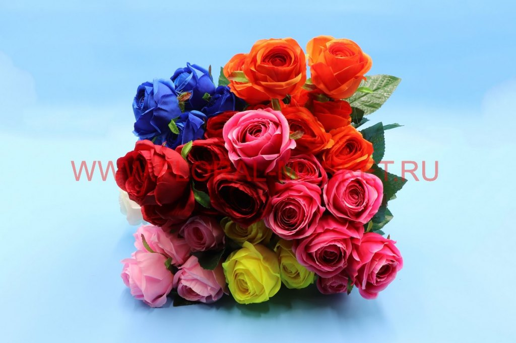 """Б6199 Букет роза """"Валенсия"""" 7г. h-57см."""