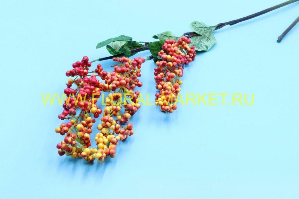 В9730 Ветка ягод Годжи h=120см.