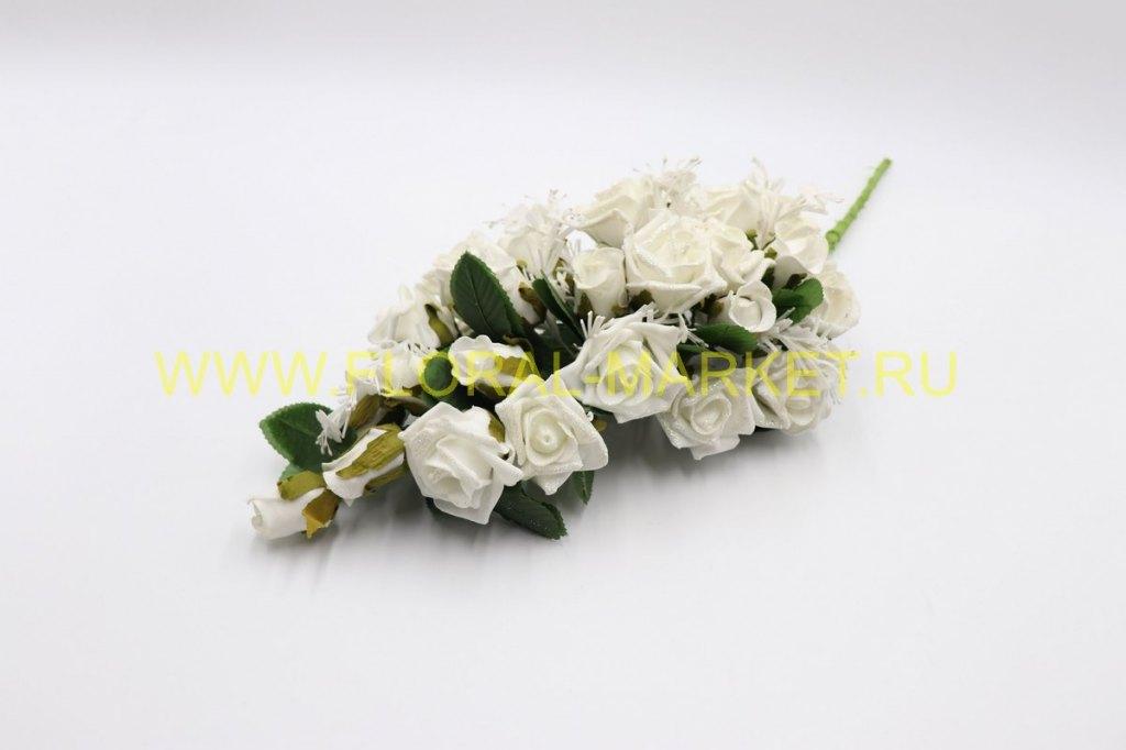 Букет Невесты наклонный (h= 37 см, 42 бутона)