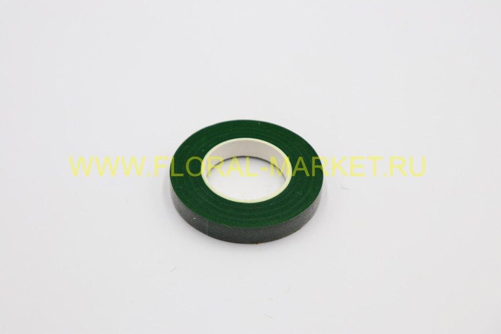Тейп лента 12 мм*28м. зеленый