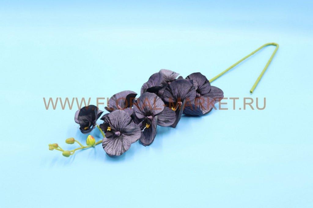 """В2633 Ветка орхидея """"Альфа""""8г.+6б. в.-100см."""