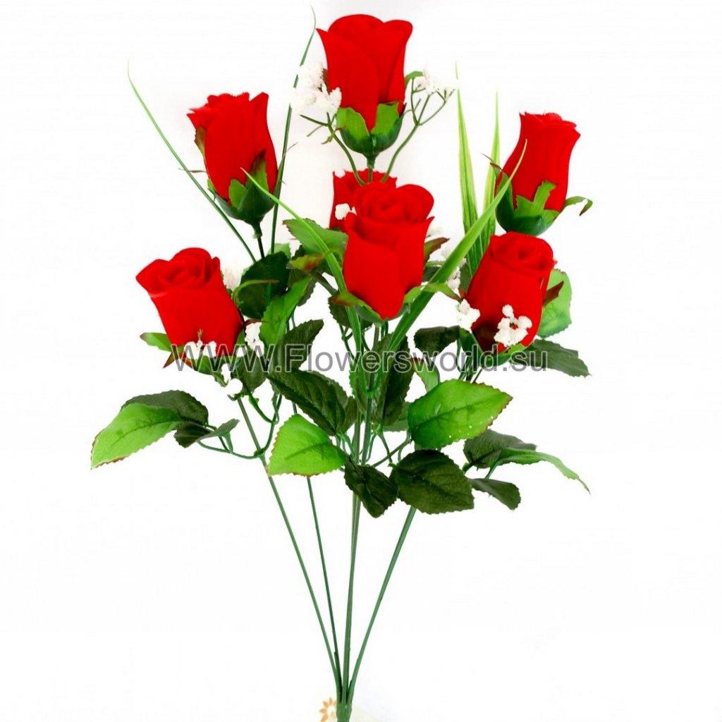 Б301 букет роза бархат