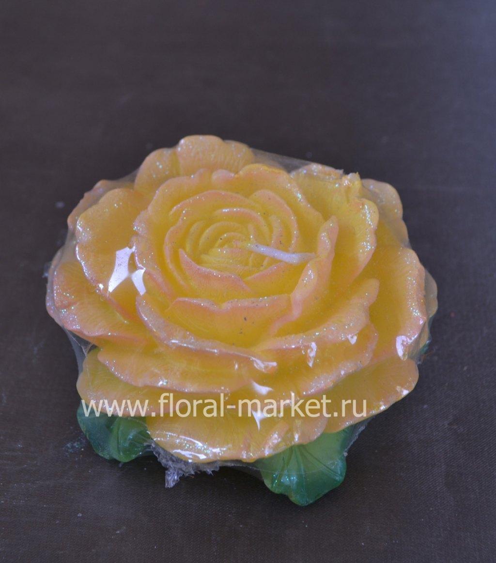С2137 Свеча роза чайная ароматизированная