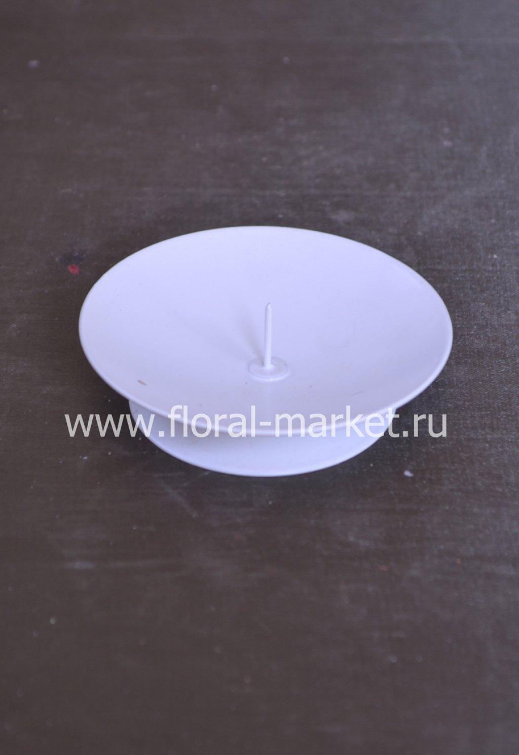 С966020 Подствечник лотос белый