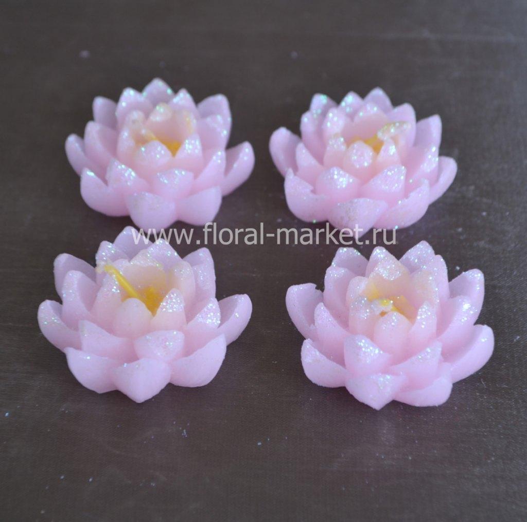 С3362 Набор свечей лилии розовые