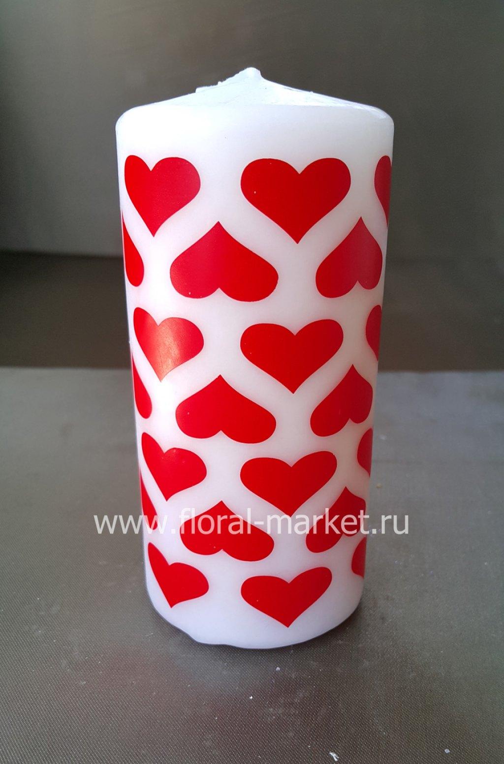 С6153 Пенек подарочный сердечки