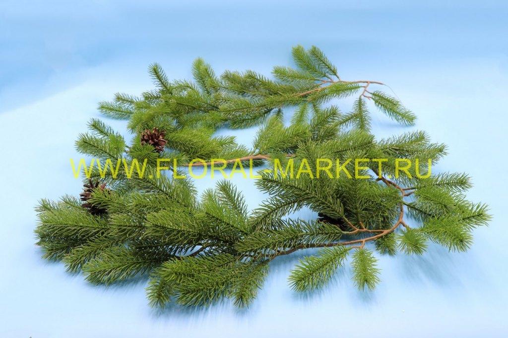 З5527 Лиана елки с шишками L=1,8 м.