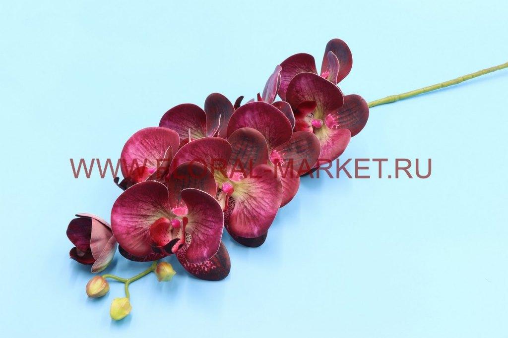 В2333 Ветка орхидея 8г+2б.в-100см.
