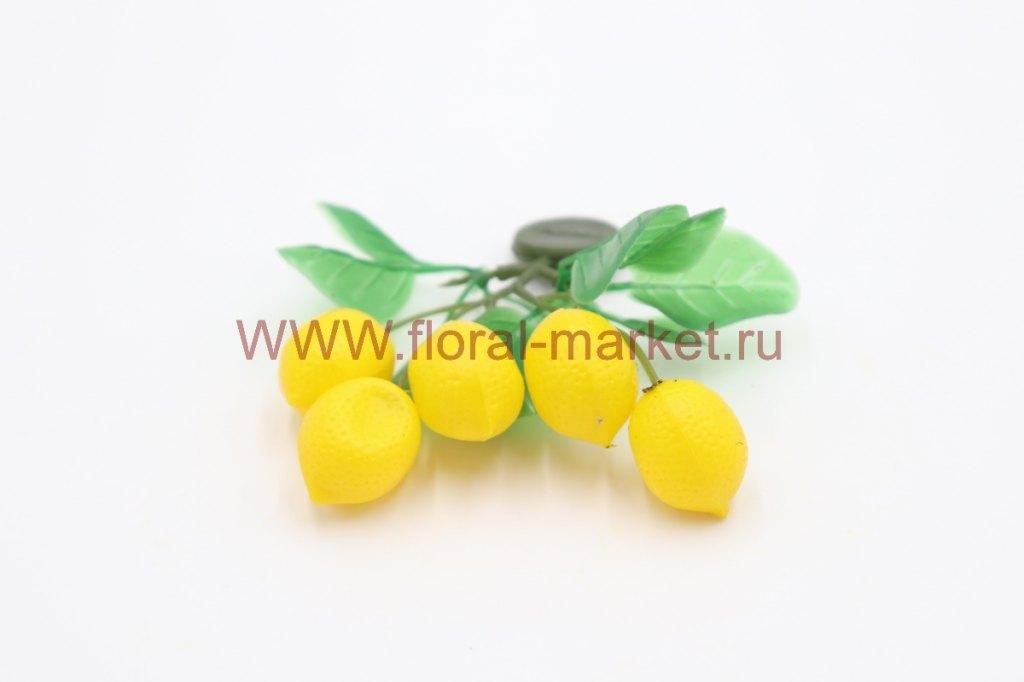 Фрукты/ягоды мелкие на магните Лимон