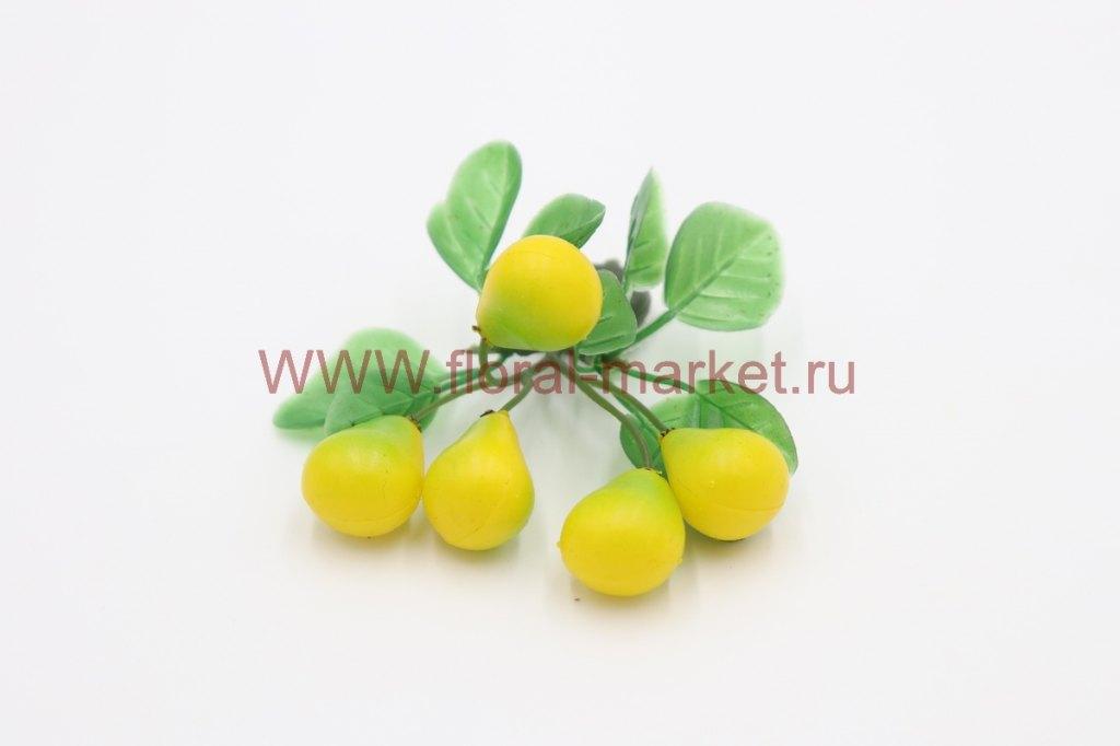 Фрукты/ягоды мелкие на магните Груши