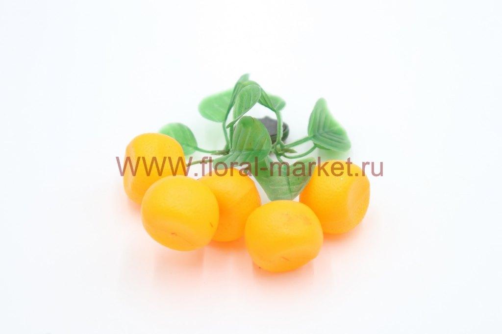 Фрукты/ягоды мелкие на магните Мандарины