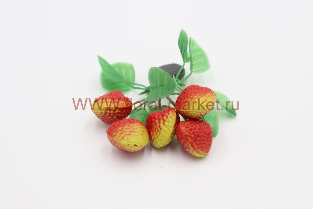 Фрукты/ягоды мелкие на магните Клубника