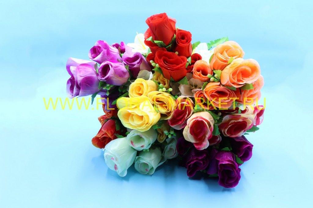 Б585 Букет роза с лилией 13г.