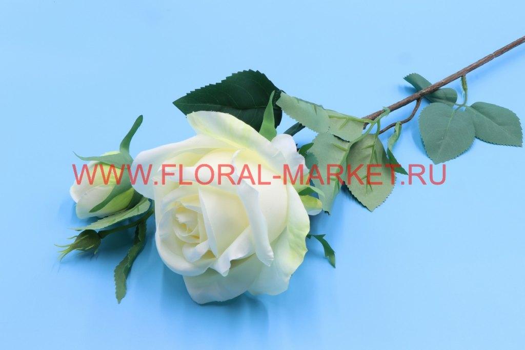 В2660 Ветка роза h=70см.