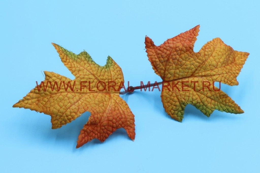 З1747 Листья двойные осенние