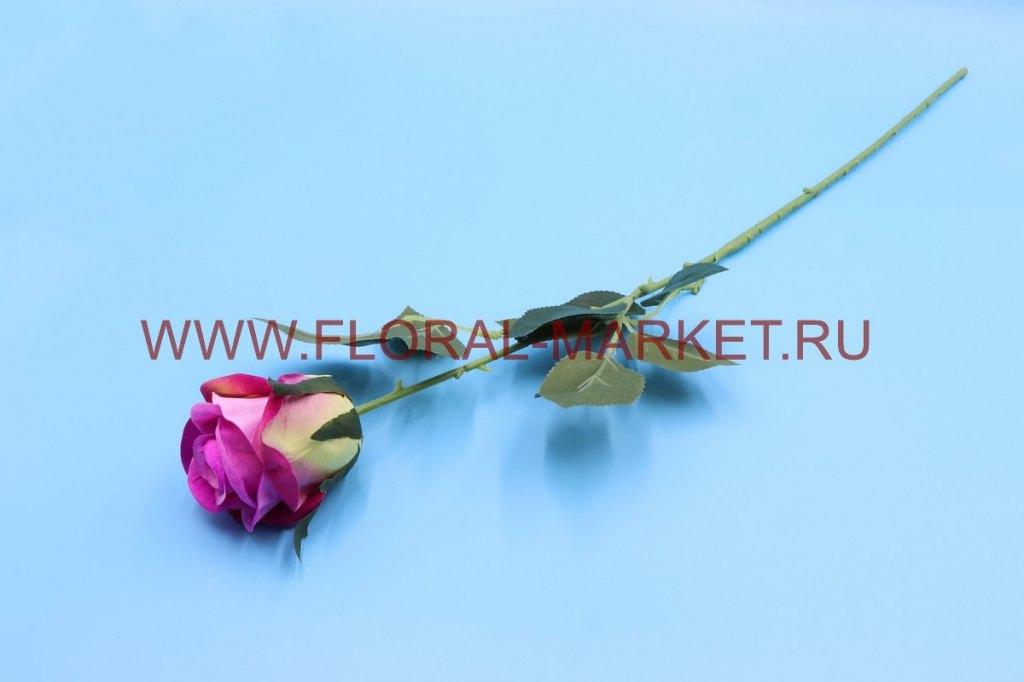 О1509 Одиночная роза h=70см.