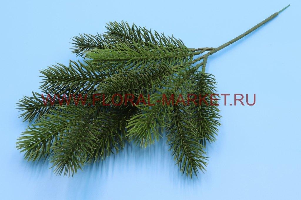 В204 Ветка елки средняя h=36см.