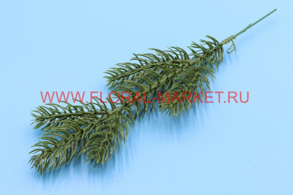 В231 Ветка елки h=22см.