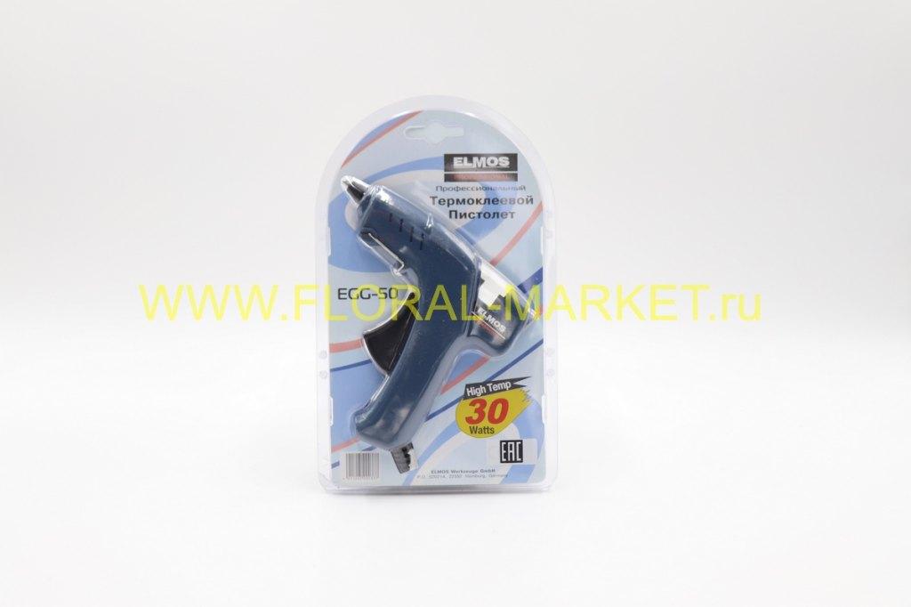 Пистолет термоклеевой ELMOS EGG-50 30 Вт 7 мм.Герм