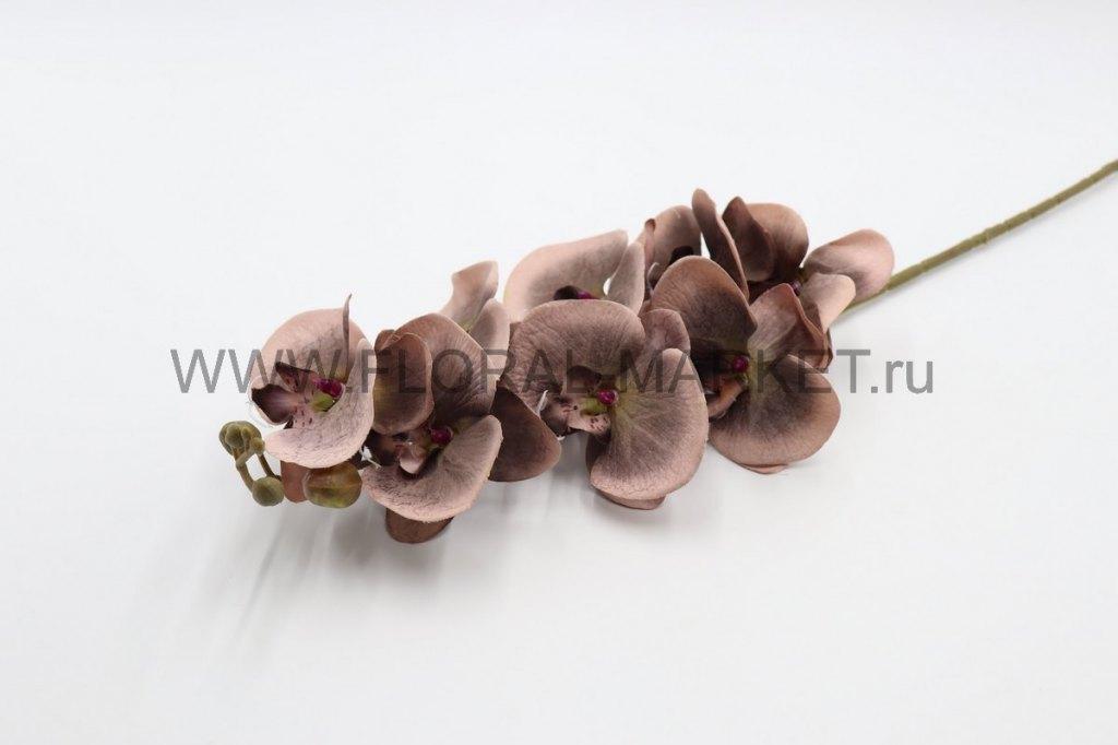 """В2611 Ветка орхидея """"Камилла"""" 8г.+6б. в.-90см."""