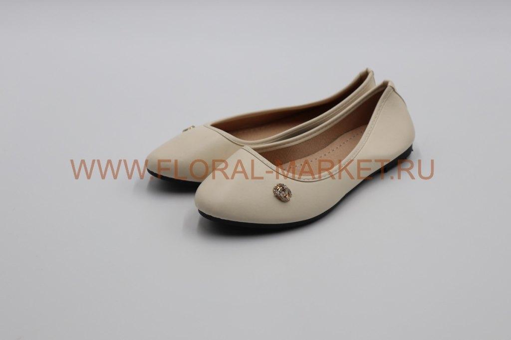 Туфли женские ритуальные к/зам