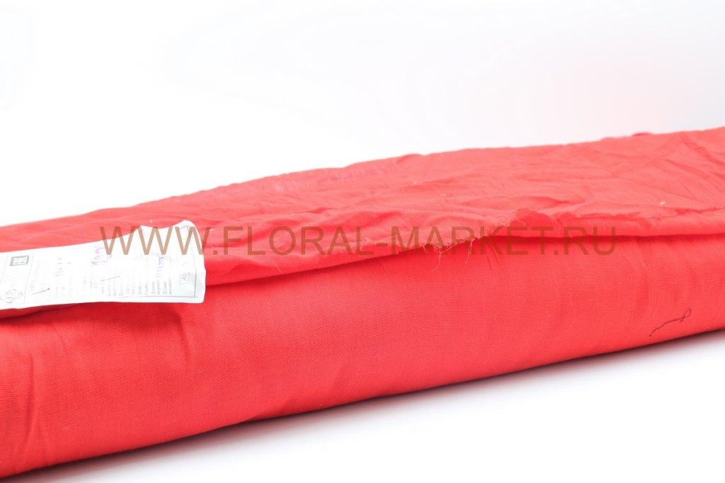 Ситец красный Ш-80 см.пл.64-62 г/м2