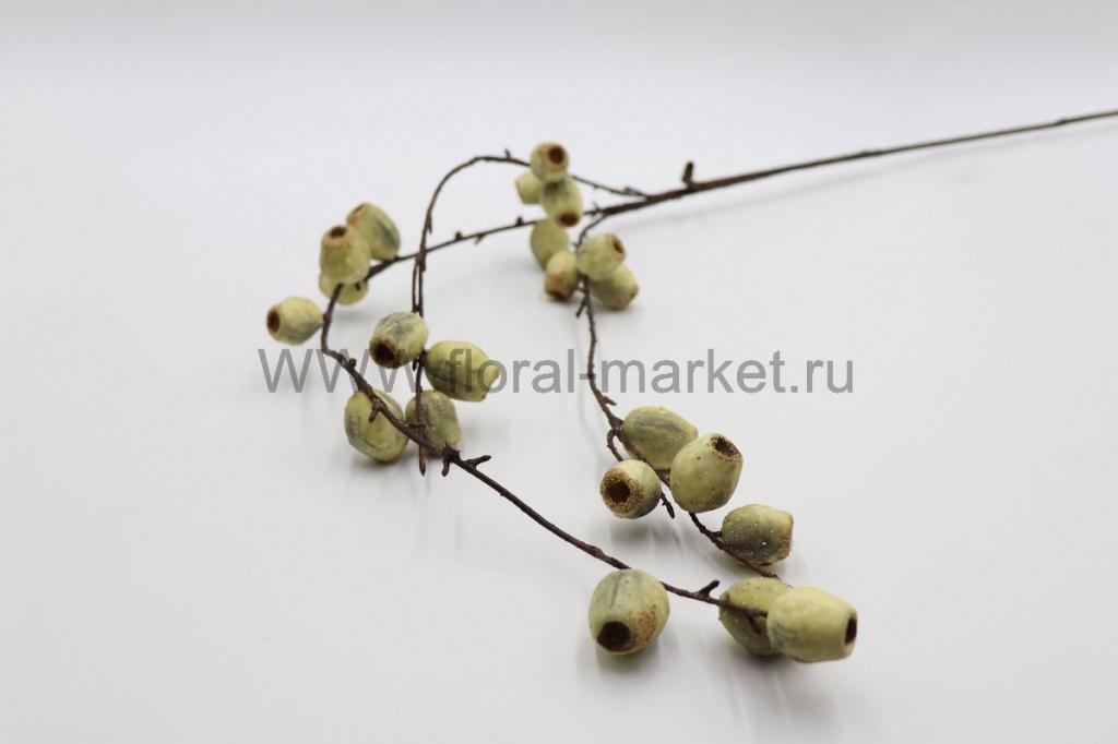 В337 Ветка плод оливы h=88см.