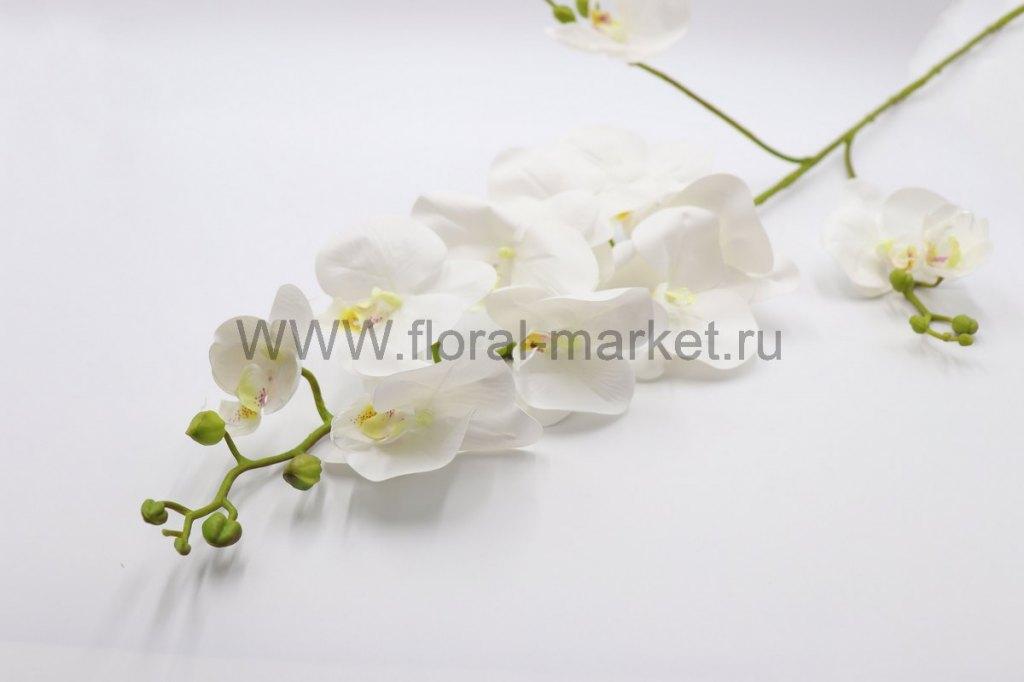 """В2497 Ветка орхидея """"Фара"""" (силикон)12г+15б. в.-12"""