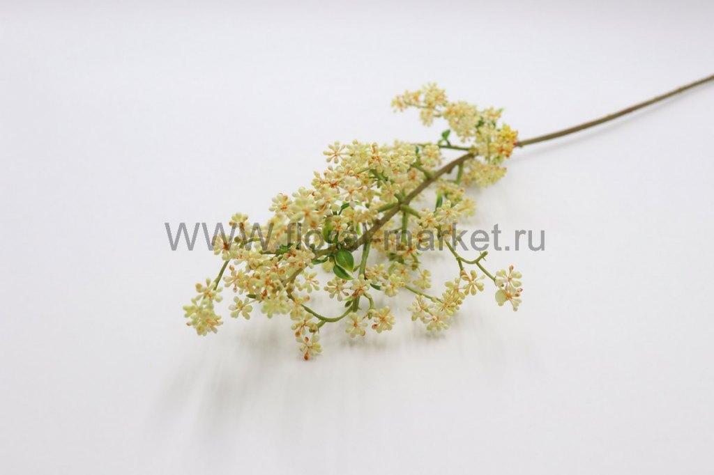 В133 Ветка полевые цветочки