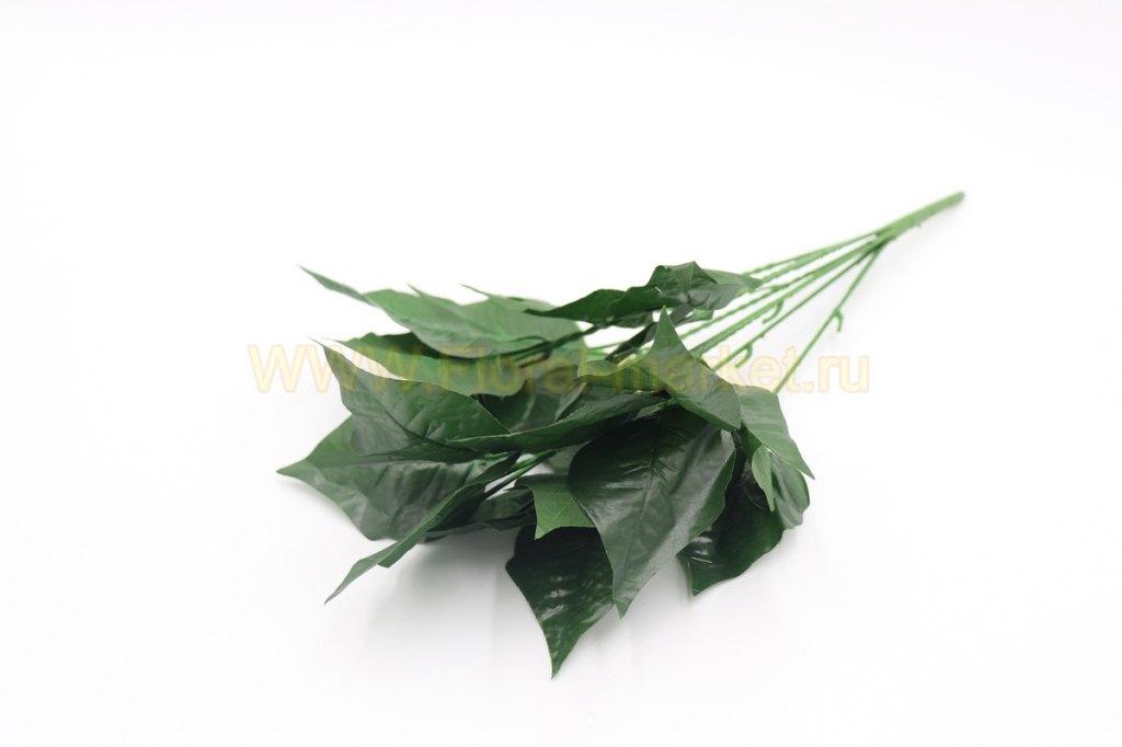 З5160 Подбукетник с крупными листьями 7 вет.h=44см